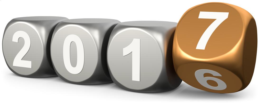 Jahreswechsel 2016 zu 2017